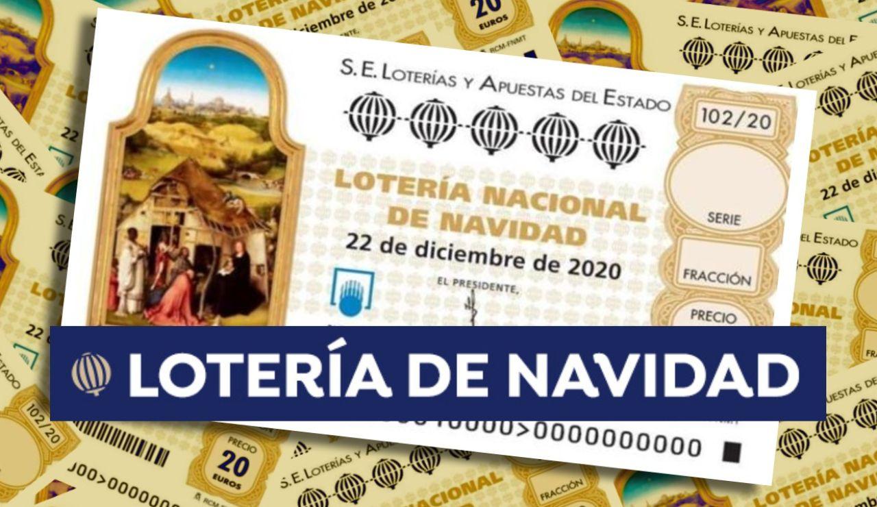 Premios de la Lotería de Navidad 2020