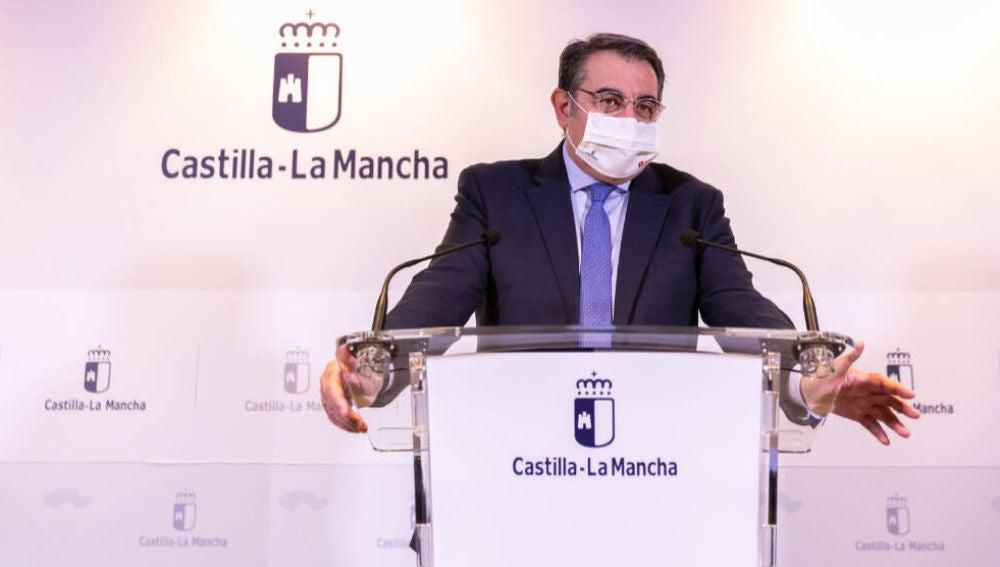 Jesús Fernández Sanz durante una rueda de prensa