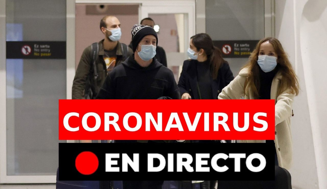 Coronavirus España: última hora de la nueva cepa en Reino Unido, en directo