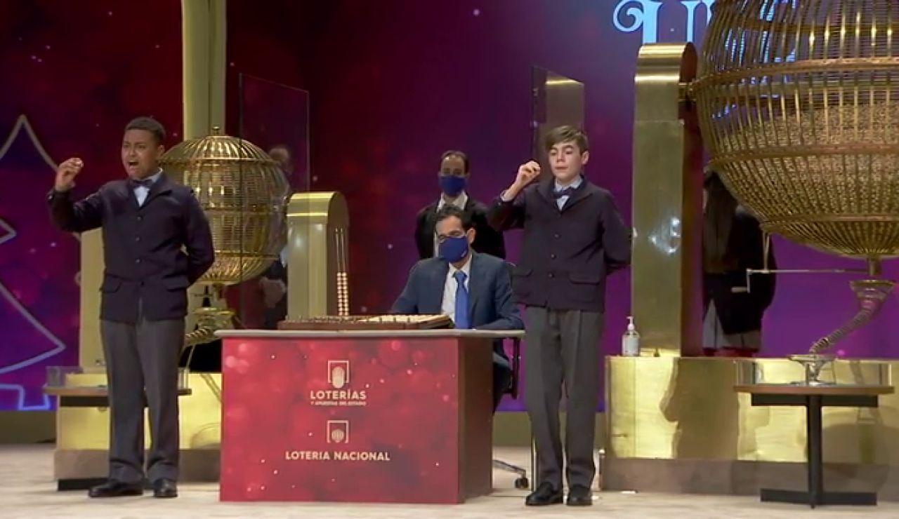 72897, el Gordo de la Lotería de Navidad 2020 en vídeo