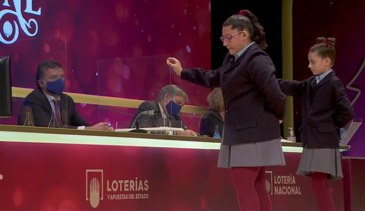 52.472, tercer premio de la Lotería de Navidad 2020 en vídeo