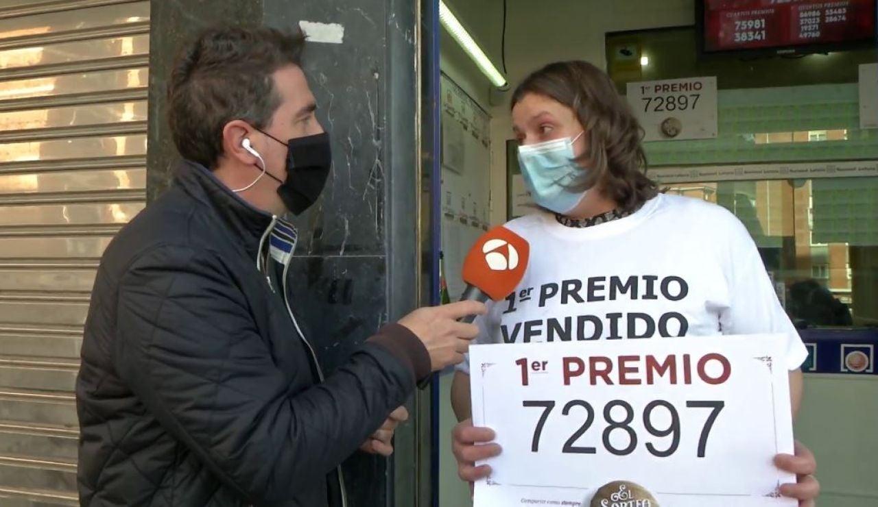 El Gordo cae en Bilbao
