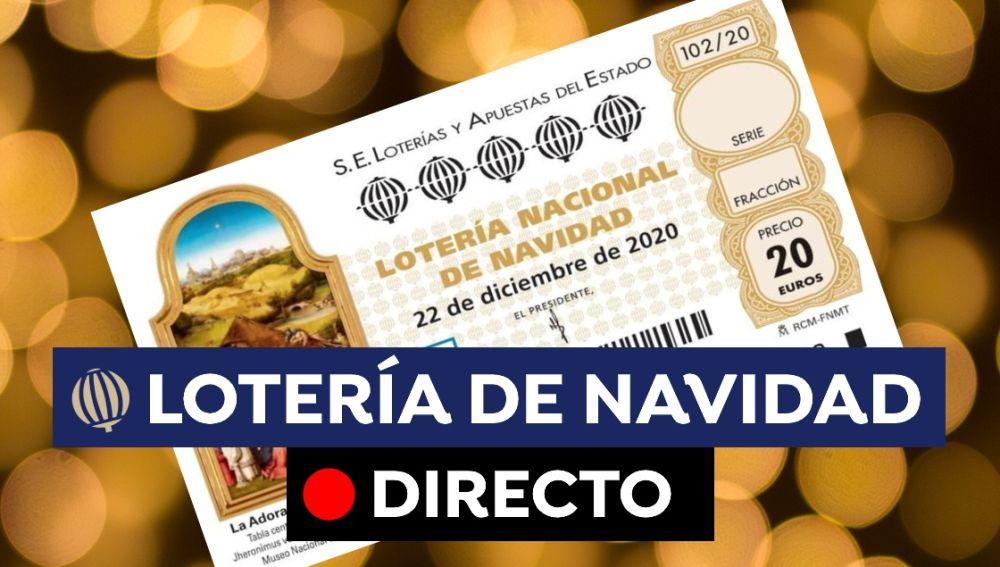 Lotería de Navidad 2020: Comprobar número, premios y El Gordo hoy, en directo