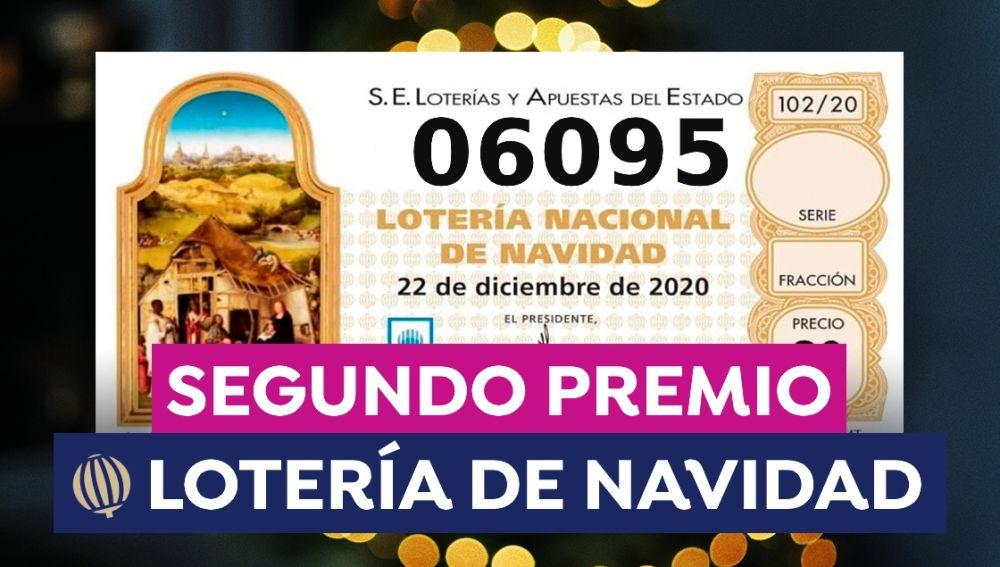 El segundo premio de la Lotería de Navidad