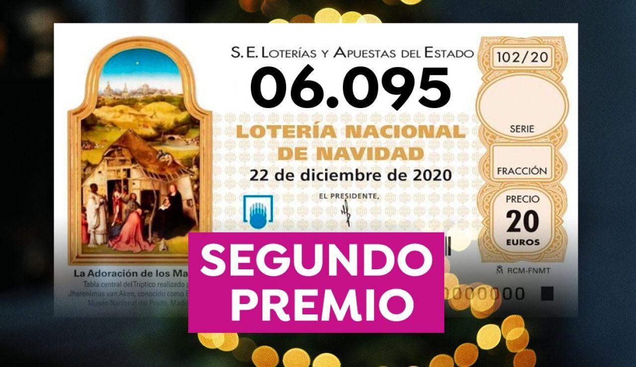 Lotería de Navidad 2020: Dónde ha tocado el segundo premio