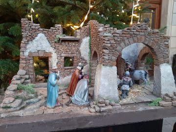 Belén gigante de Navidad en Sabadell, Barcelona
