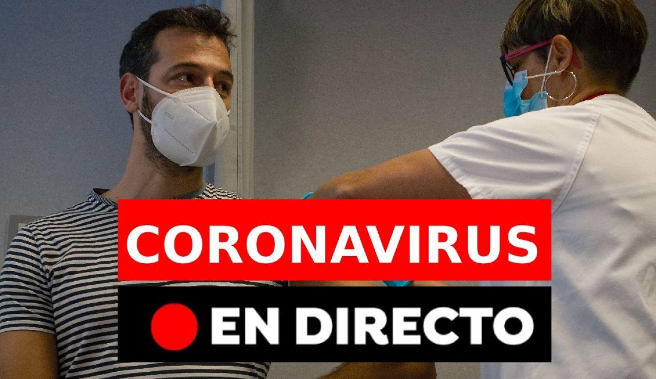 Coronavirus España: Última hora de la nueva cepa, contagios y restricciones para Navidad, en directo