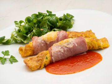 """Tortilla rellena de queso: la """"socorrida"""" receta de Karlos Arguiñano"""