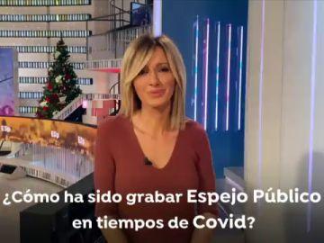 Susanna Griso hace balance de cómo ha sido grabar Espejo Público en 2020 en tiempos de coronavirus