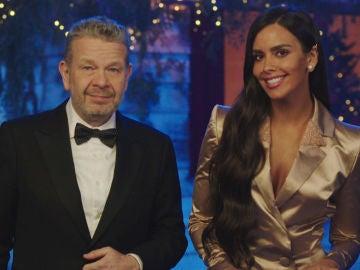 """Cristina Pedroche y Alberto Chicote, preparados para las Campanadas de Antena 3: """"Llega el momento de despedir este año tan diferente y de pasárnoslo muy bien, que nos lo merecemos"""""""
