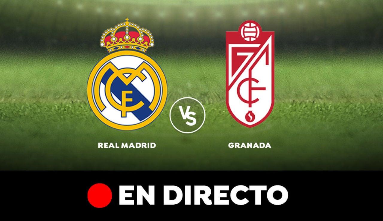 Real Madrid - Granada: Resultado y goles del partido de hoy, en directo | Liga Santander