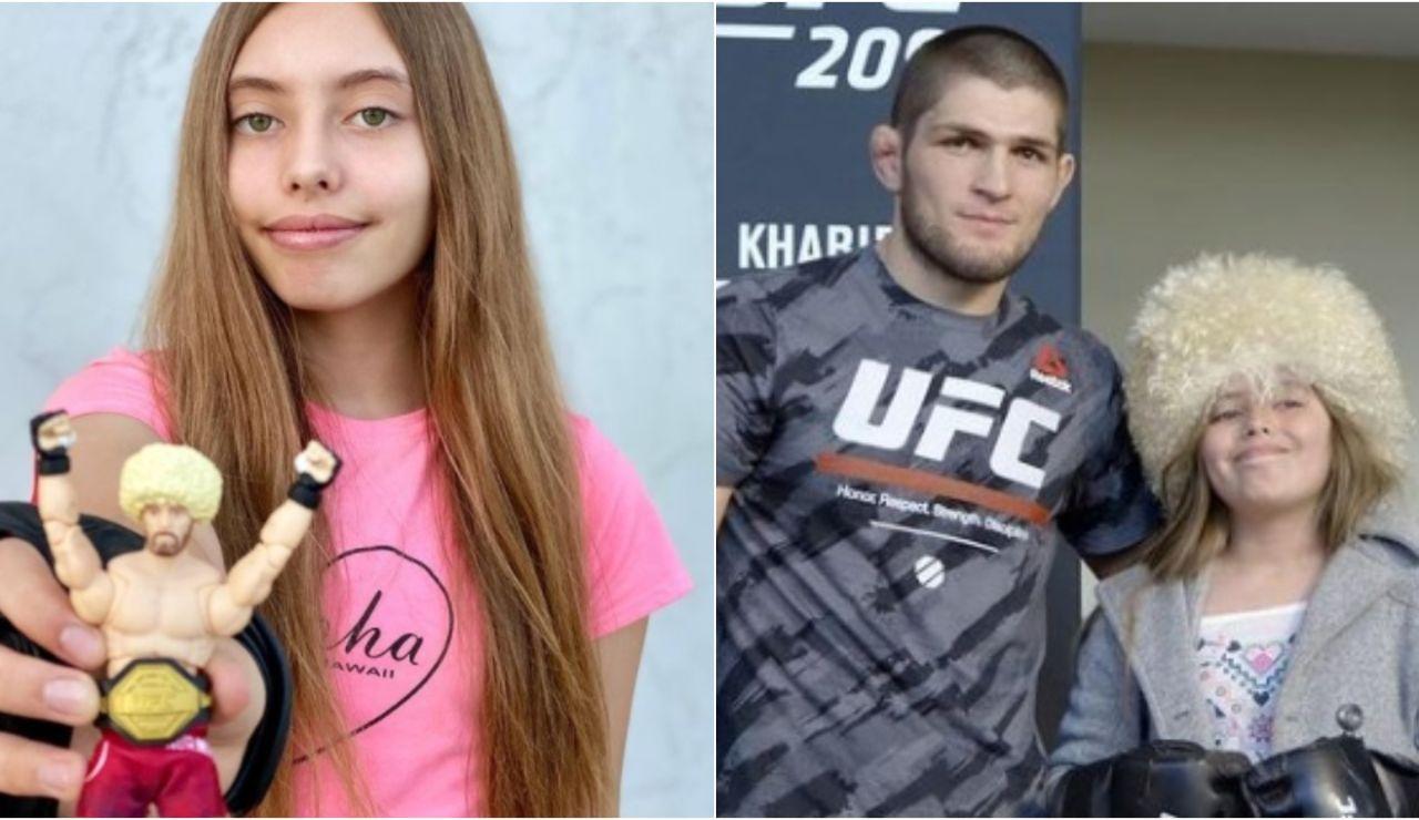 Kylie Meade, la joven de 14 años fanática de Khabib Nurmagomédov