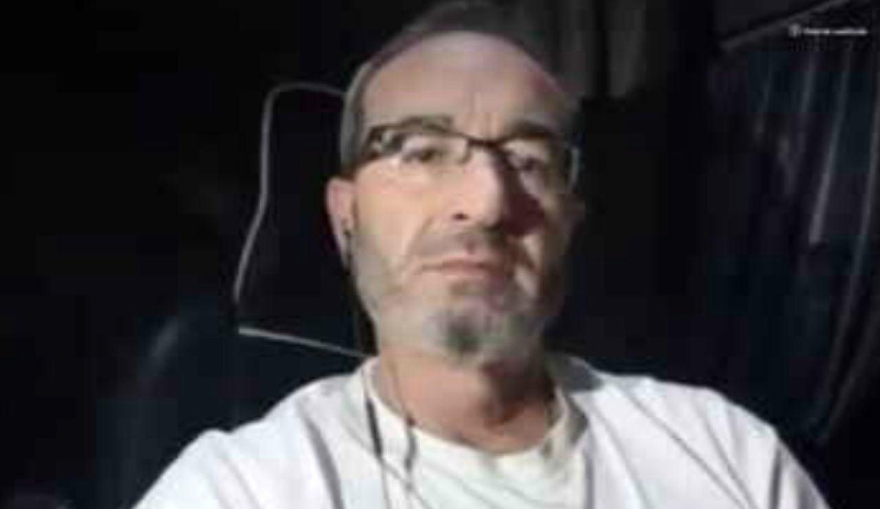 """Manuel Ruiz, camionero bloqueado en Reino Unido: """"Todavía no me han hecho la PCR, estamos esperando a la llegada de los militares"""""""