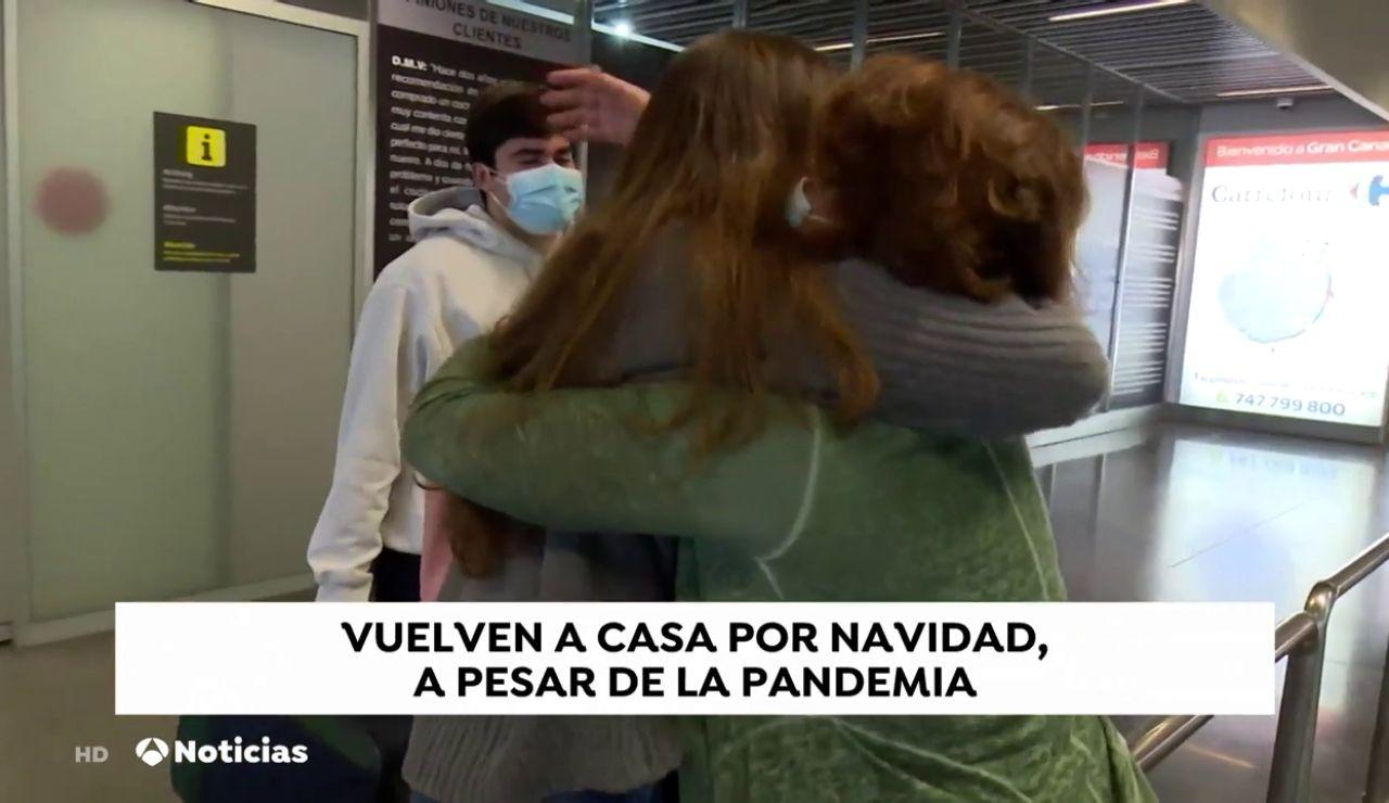 Reencontrarnos con familiares sin abrazos para evitar contagios de coronavirus