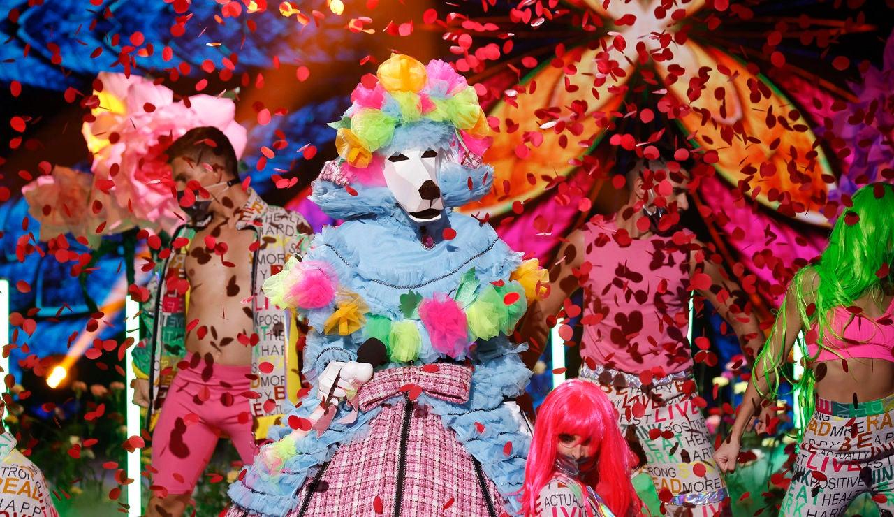 El Caniche arrasa como 'Only girl (in the world)' de Rihanna en la Gran Final de 'Mask Singer'