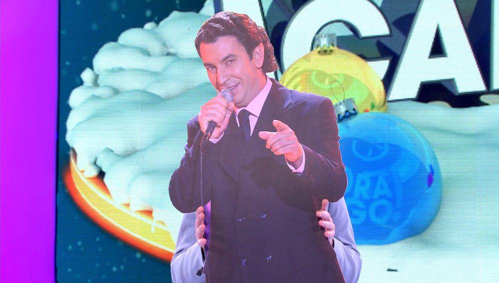 Bertín Osborne 'suple' por un día a Arturo Valls como presentador de '¡Ahora caigo!'