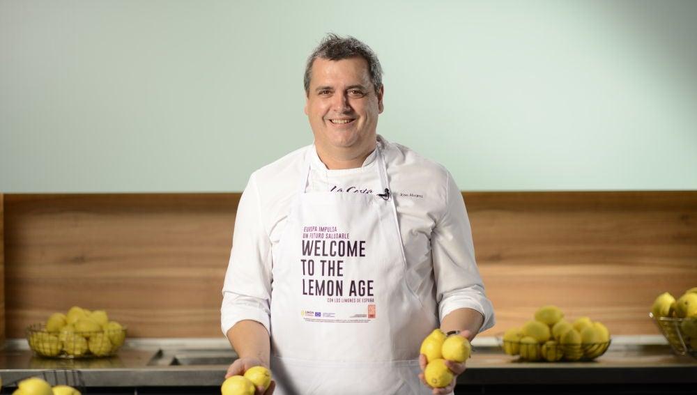 José Álvarez, chef estrella Michelín