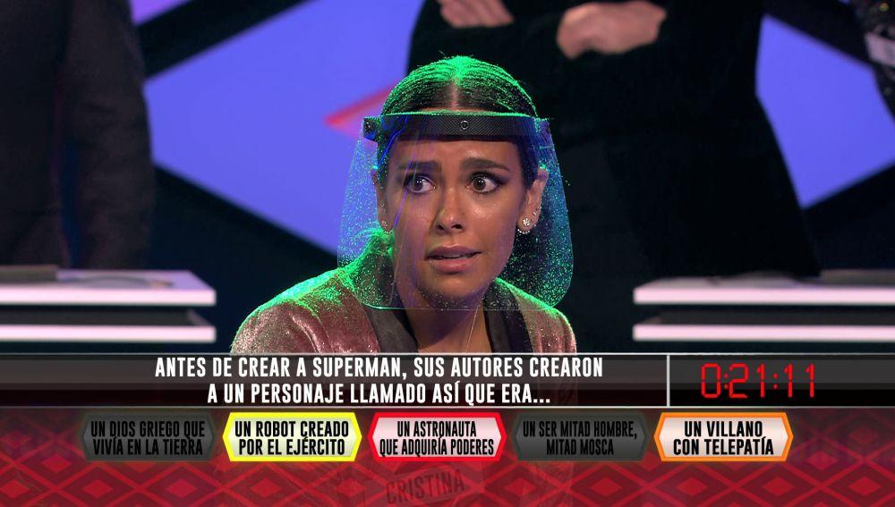 El estrepitoso grito de Cristina Pedroche al explotar la bomba: ¡eclipsa todo el plató!