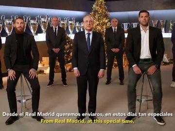 """El Real Madrid felicita la Navidad y espera un 2021 lleno de éxitos: """"Nunca nos rendimos y nada va a detener nuestra ilusión"""""""