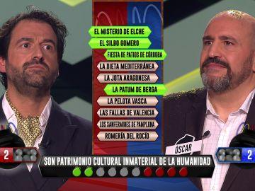 Manolo y Óscar, rivales y enfrentados en un ajustadísimo desempate en la bomba estratégica