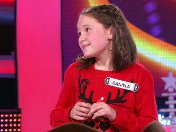 Daniela se enfrenta a la prueba final del especial Navidad de '¡Ahora caigo!' para conseguir… ¡todos los regalos!