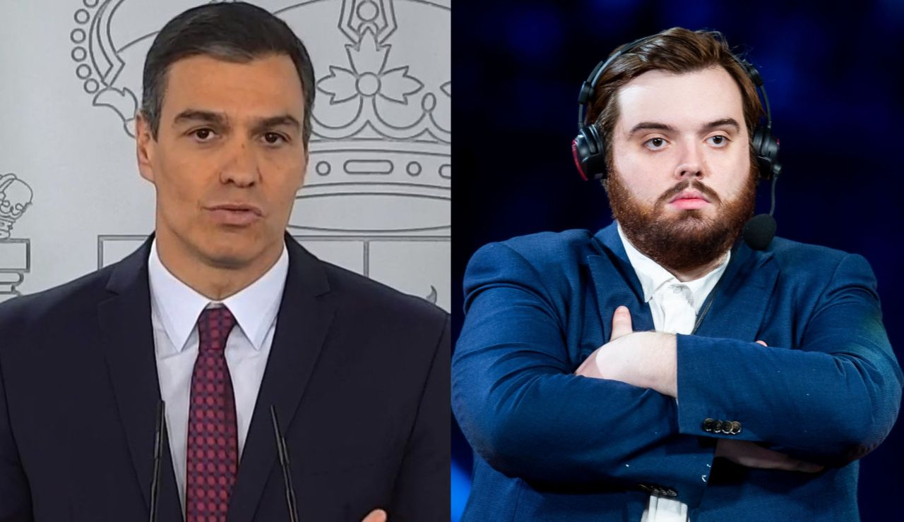 La loca conversación twitera entre Pedro Sánchez e Ibai Llanos