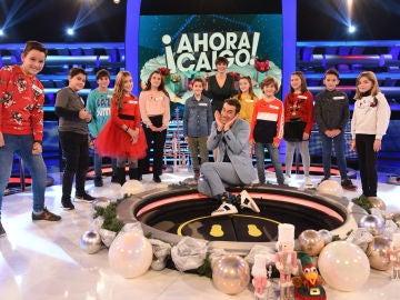 ¡El villancico más pegadizo de esta Navidad! 'All I want for Christmas is you' versión '¡Ahora caigo!' con Arturo Valls y los niños