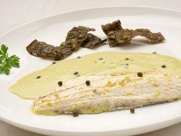 La receta con historia de Karlos Arguiñano: lubina a la pimienta verde