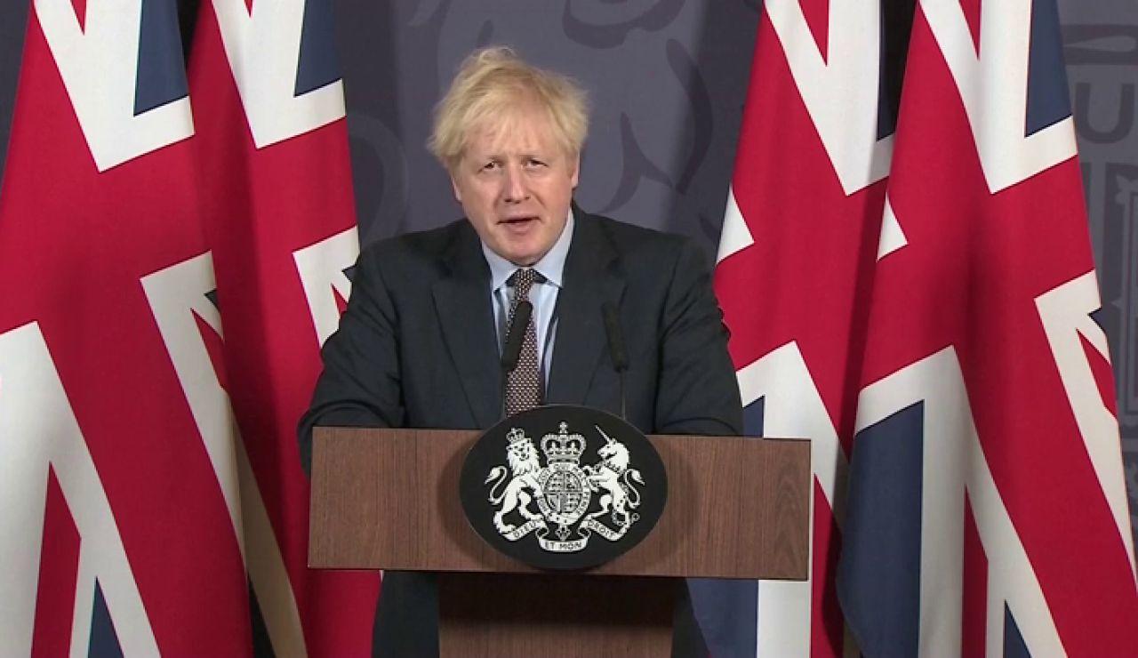 """Boris Johnson, a la UE tras el acuerdo comercial: """"Seguiremos siendo vuestro aliado y vuestro mercado número uno"""""""