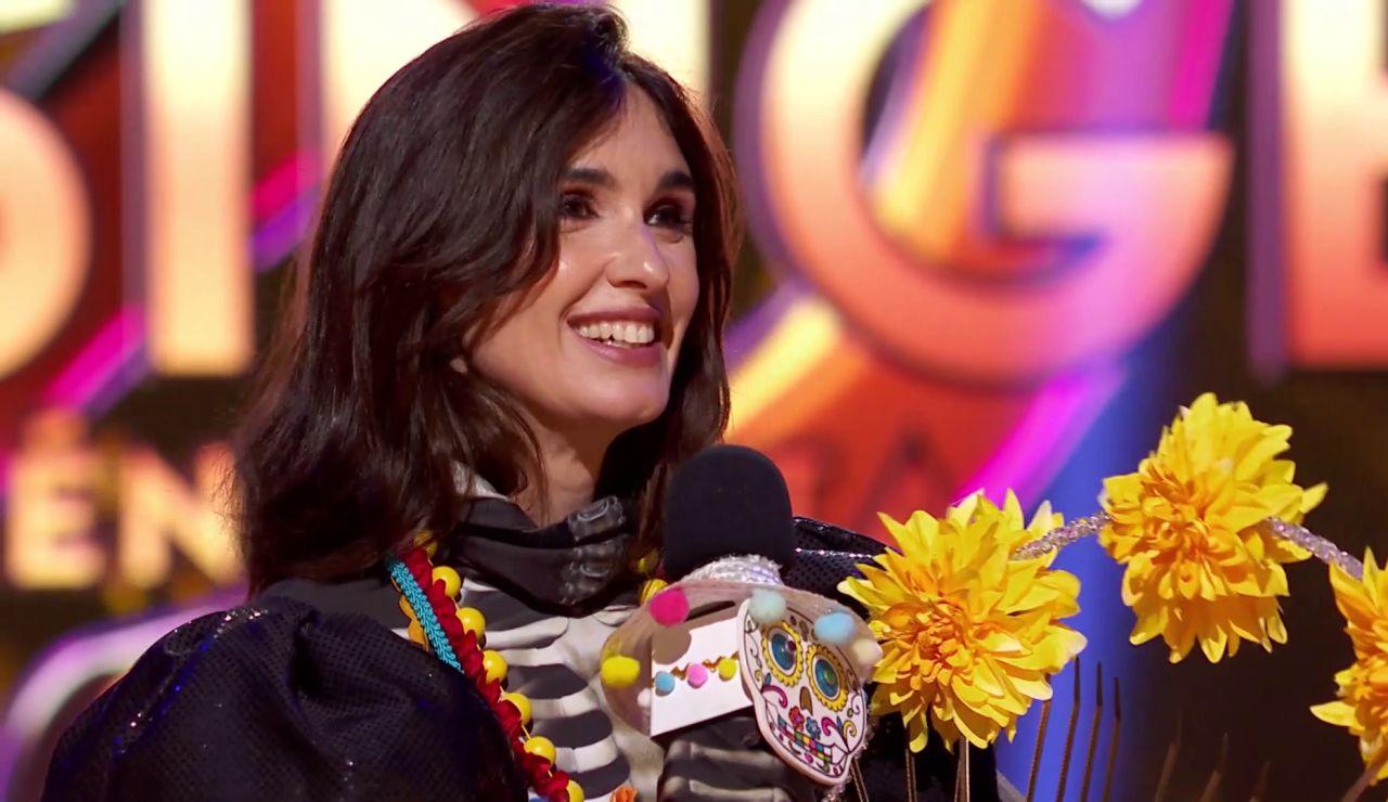 Paz Vega era la Catrina de 'Mask Singer': ¡Así fue revelada la identidad de la máscara ganadora!