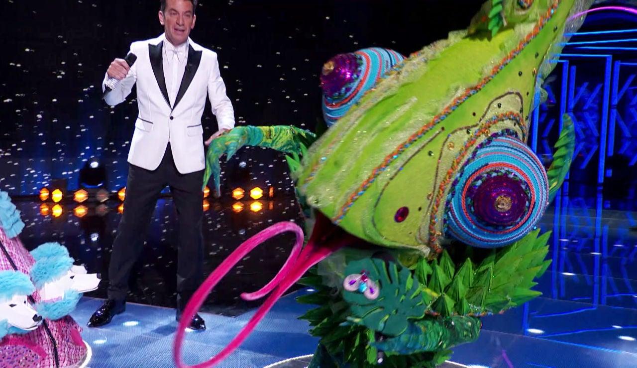 Camaleón, buen rollo y vozarrón cantando 'Feelling good' de Michael Bublé