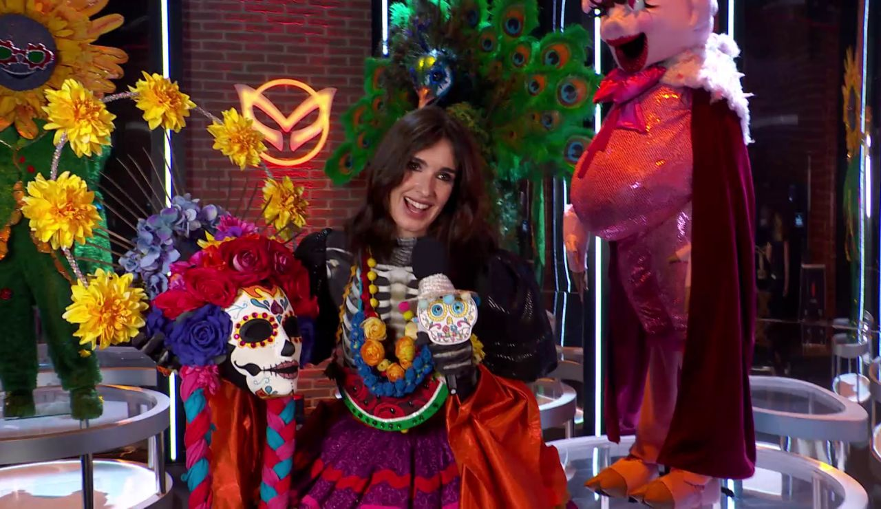 "Paz Vega, feliz tras ser la ganadora de 'Mask Singer' como Catrina: ""Ha sido mi gran compañera de viaje"""
