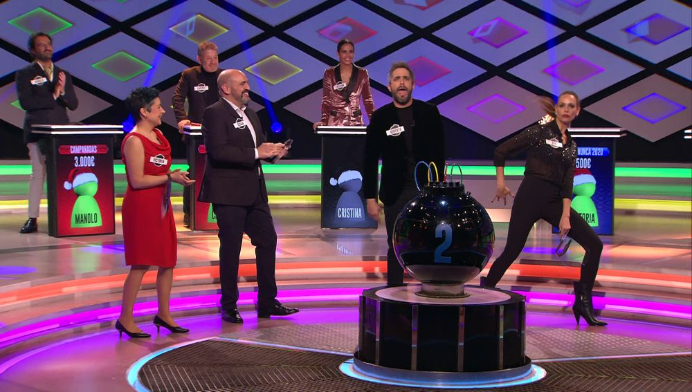 ¡Qué ritmo! Roberto Leal y Eva González lo dan todo con un rap de lo más ocurrente