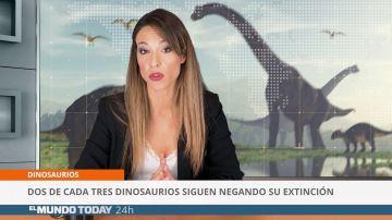 Dos de cada tres dinosaurios siguen negando su extinción