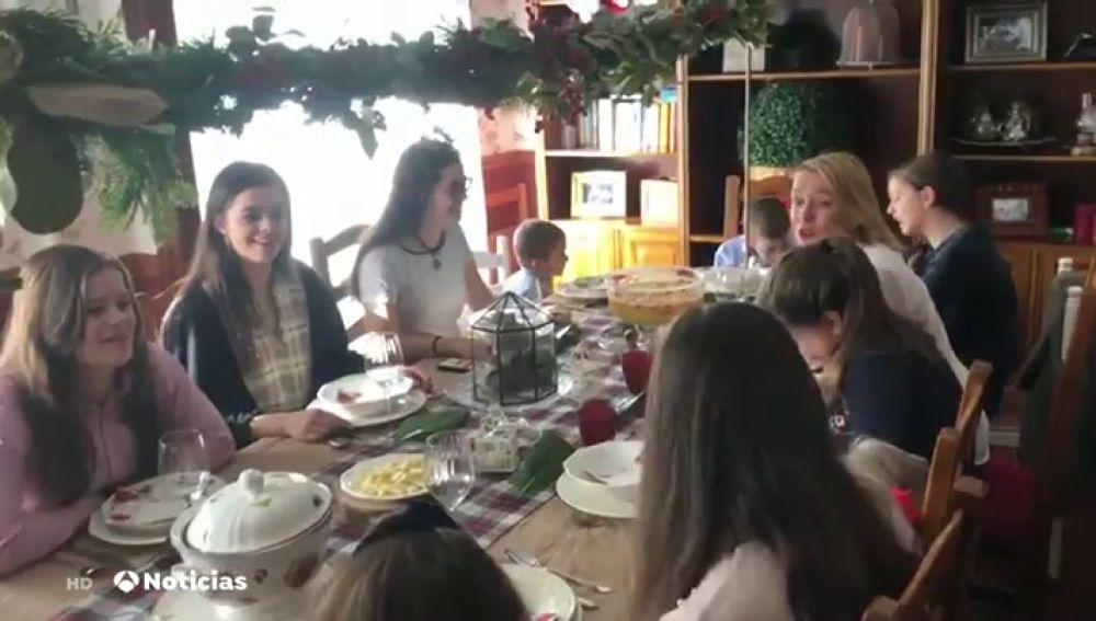 Nochebuena en familia numerosa