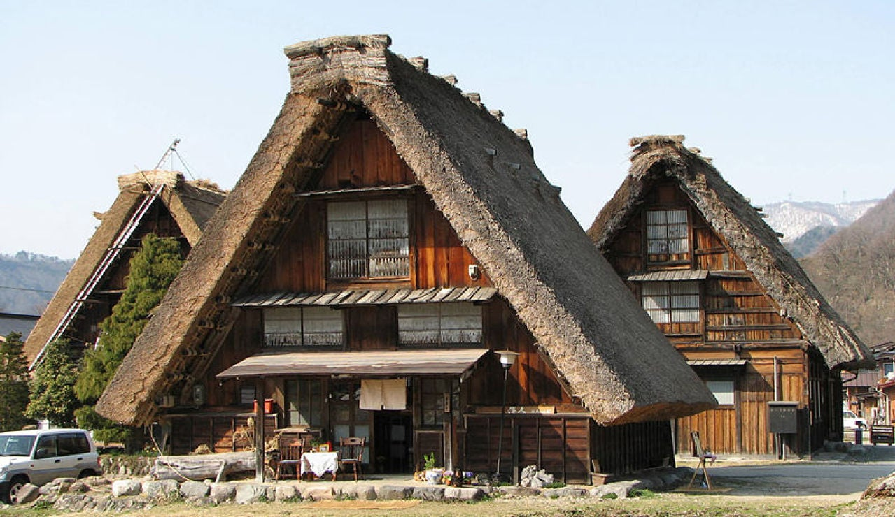 Casa japonesa gassho-zukuri