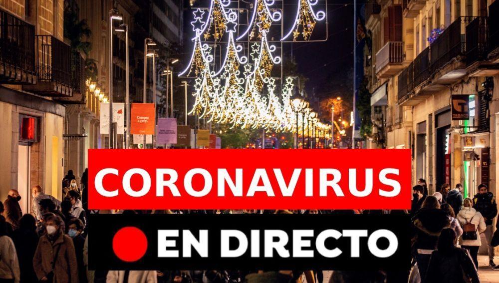 Coronavirus en España hoy: última hora de la nueva cepa  y restricciones en Navidad, en directo
