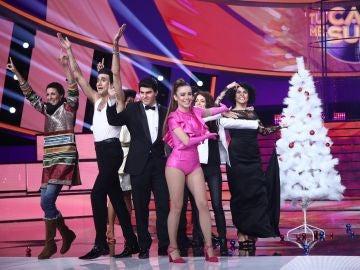 Concurso de decoración navideña en 'Tu cara me suena': jurado VS. concursantes