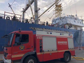 Incendio del pesquero ruso en Las Palmas. Tres personas fallecidas
