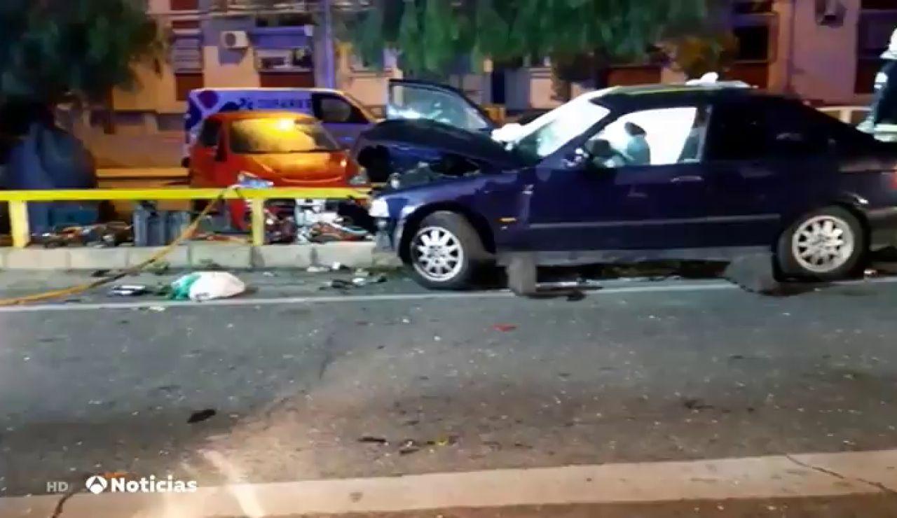 Detenido por conducir triplicando la tasa de alcohol en el accidente en el que ha muerto su mujer en Sevilla