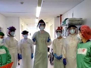 Navidad 2020 en hospitales de España