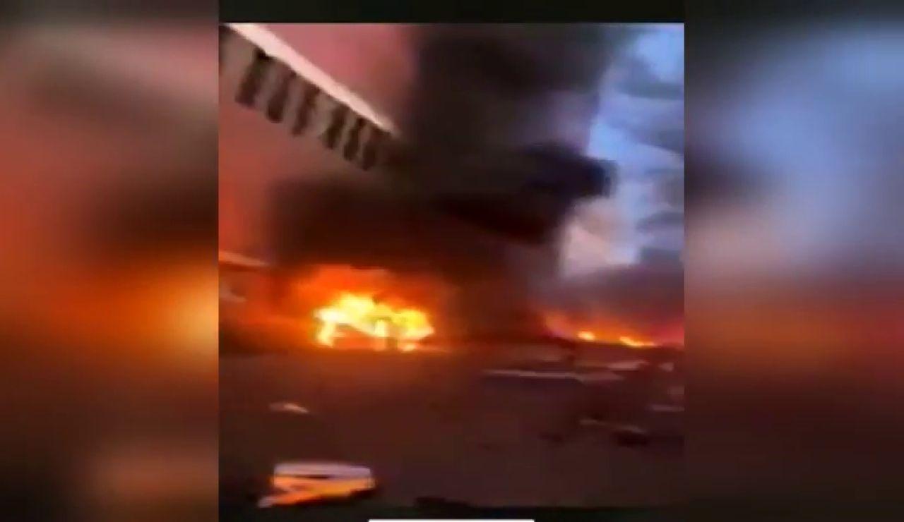 Fuerte explosión en el centro de Nashville, en Estados Unidos