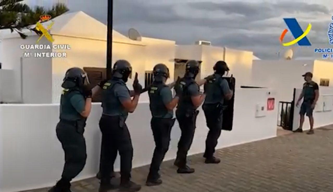 Operación narcotráfico