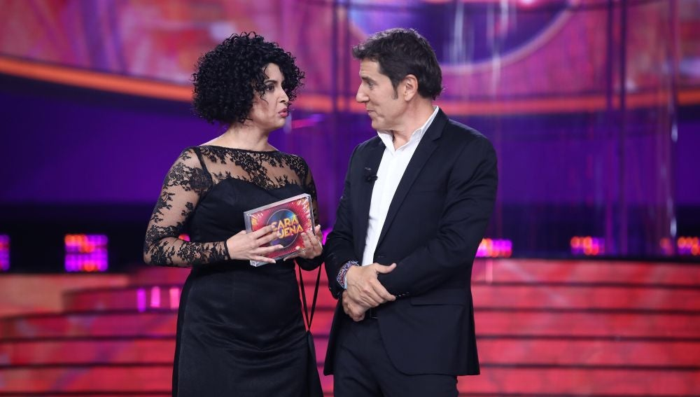 Cristina Ramos gana tras una emocionante imitación de Nina