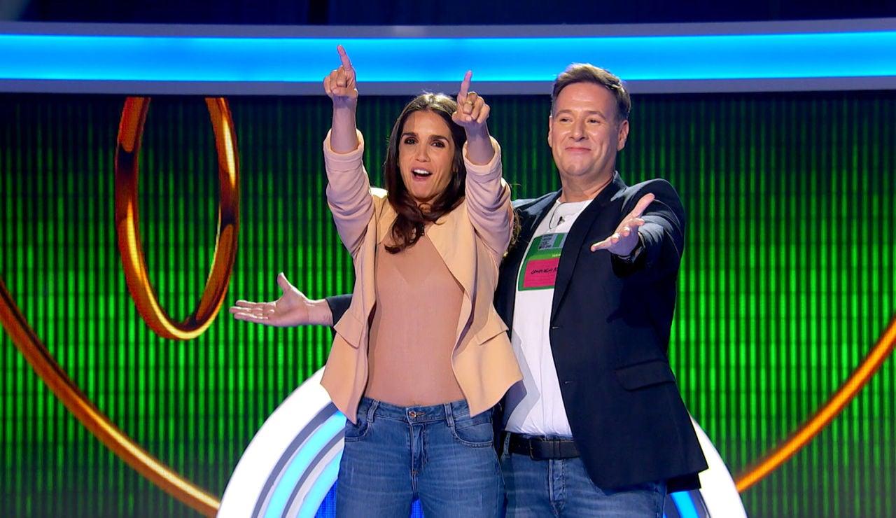 Elena Furiase y Carlos Latre se convierten en los flamantes ganadores de 'El juego de los anillos' tras el error de Laura Sánchez y Paco Tous