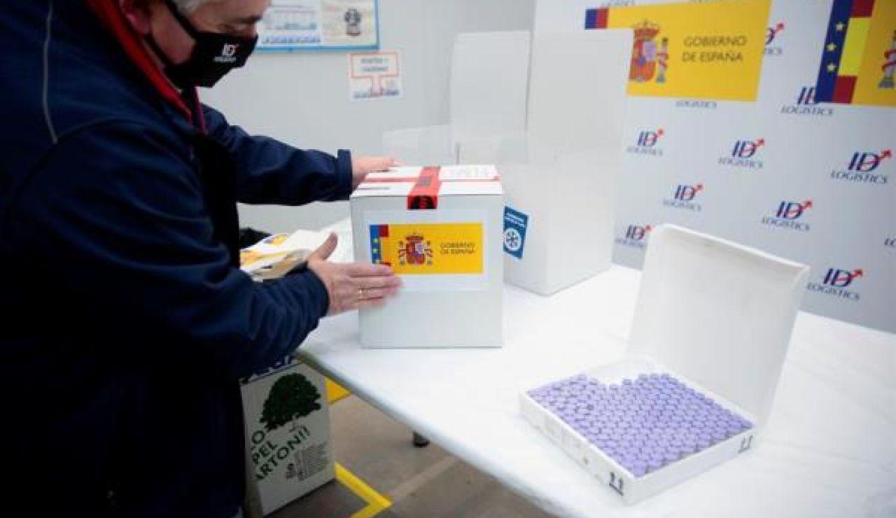 La vacuna contra el coronavirus ya está en España