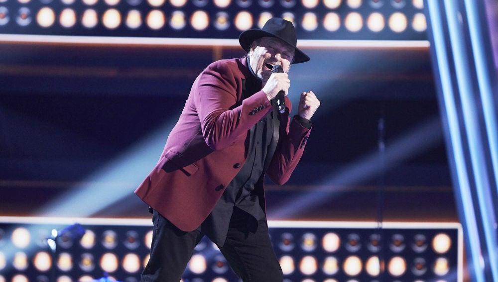 Fernando Demon canta 'Unchain my heart' en la Gran Final de 'La Voz Senior'