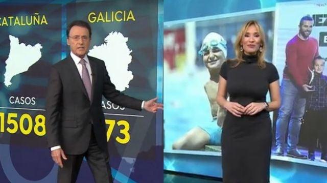 Matías Prats y Rocío Burgos