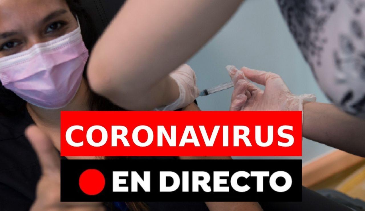 Coronavirus España: primera vacuna contra la COVID-19, en directo