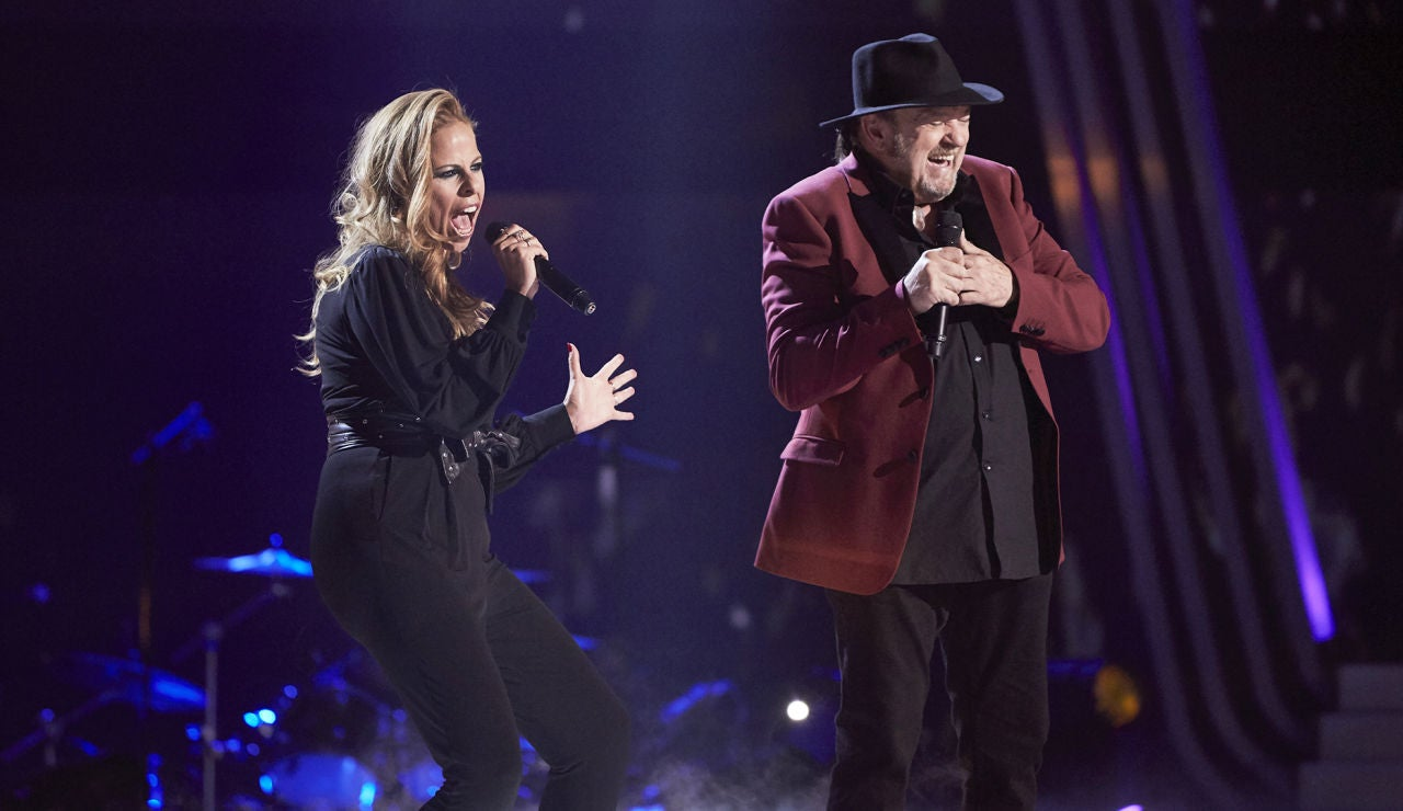 Pastora Soler y Fernando Demon cantan 'You are so beautiful' en la Gran Final de 'La Voz Senior'